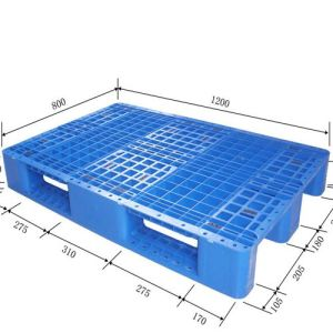 Hot Sale Favorable Euro Pallet Size HDPE Plastic Pallet pictures & photos