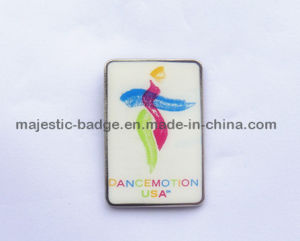 Stainless Iron&Silk Screen Printing Pin pictures & photos
