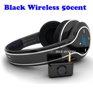 Black Bluetooth Wireless 50cent Headphones SMS Audio SYNC by 50 Cent