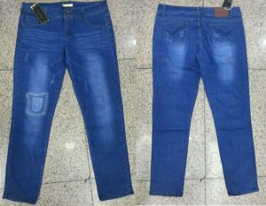 Fashion Women Long Jeans (JF2014-468)