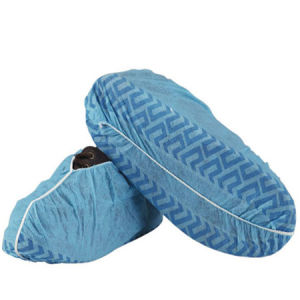 Non Slip Disposable Hospital Shoe Covers Non Woven Made pictures & photos