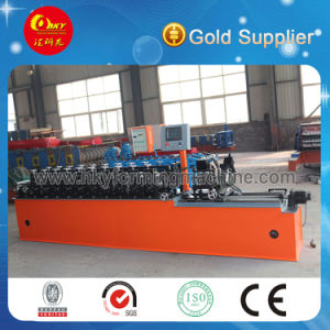 Full Automatic C/Z Exchangeable Roll Forming Machine Line pictures & photos