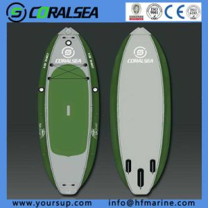 "PVC/PVC Material/EVA/EVA Material/PVC Drop Stitch Sup Board for Sale (Fishing Board 10′0"") pictures & photos"