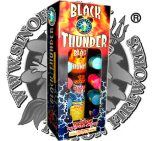 Black Thunder Canister Artillery Shells Super Firewroks pictures & photos