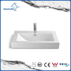 Ceramic Cabinet Basin and Vanity Top Hand Washing Sink (ACB2204) pictures & photos