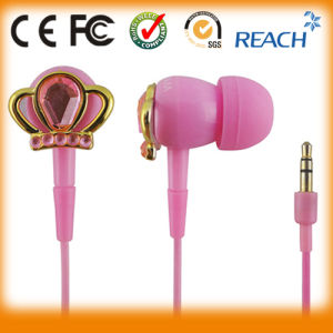Direct Factory Branded Diamond Earphone Fashion pictures & photos