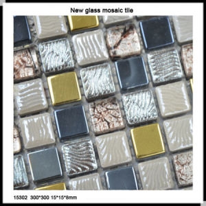 New Design Classical Glass Mosaic 15302 pictures & photos