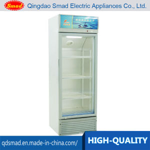 328L Vertical Glass Display Refrigerated Showcase Cooler pictures & photos