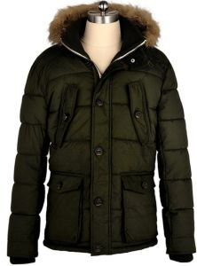 Men Parka Fashion Hoody Winter Fake Fur Jacket pictures & photos