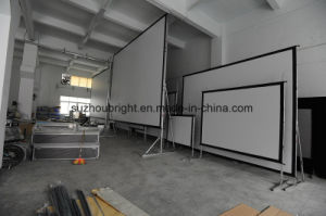 "150"" Fast Folding Rear Projection Screen"