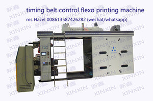 4 Color Flexographic Printing Machine for PP Woven Sack/Non Woven/Paper/Plastic pictures & photos