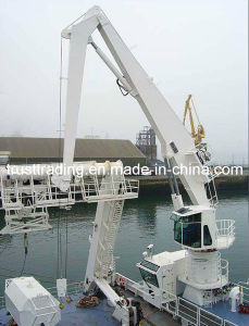 Marine Crane, Deck Crane, Ship Cargo Crane pictures & photos