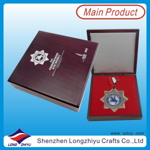 Big Medallion Award Yachting Race Medals Silver Knighthood Medal (lzy00046) pictures & photos