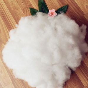 Semi Dull Polyester Staple Fiber Recycled Polyester Staple Fiber Poly Fill Fiber for Filling Toys Pillows Cushions pictures & photos