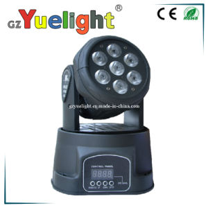 7PCS*10W RGBW LED Moving Head Stage Light pictures & photos