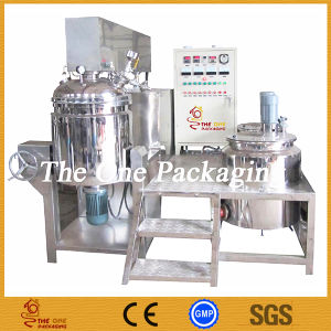Stainless Steel 5L Vacuum Homogenizer Emulsifying Mixer pictures & photos