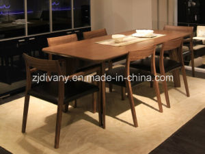 Modern Style Wooden Dining Room Table pictures & photos