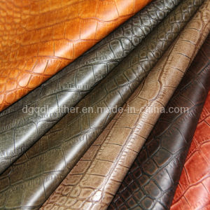 Top Sell High Quliaty Furniture Leather PU Leather PVC Leather pictures & photos