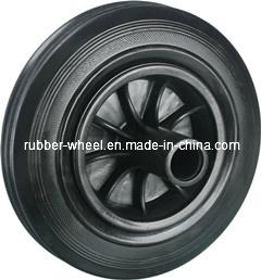 """8"""" Bin Rubber Wheel for 120L 240L Trash Bin"""
