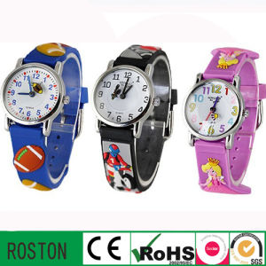OEM Design Quartz Movement Kids Promotion Watch pictures & photos