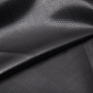 High Quatity PU Leather for Men′s Jacket ((WDHF1312203) pictures & photos