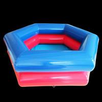 Polygon Bule Inflatable Pool
