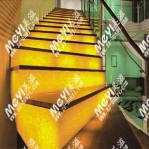 Translucent Faux Alabaster for Stair 8101 pictures & photos
