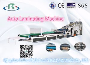 Low Price Fully Automatic High Speed Paperboard Flute Laminator pictures & photos