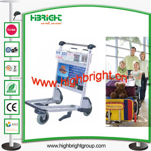 Stainless Steel Airport Luggage Trolley for Passenger pictures & photos