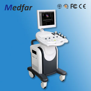Medfar Trolley Color Doppler Ultrasound MFC8000 with CE pictures & photos