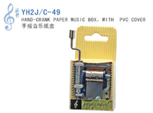Hand-Crank Paper Music Box (YH2J/C-49) pictures & photos
