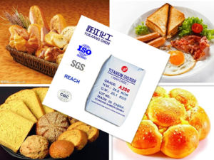 Food Grade Titanium Dioxide with FDA Certificate (A200) pictures & photos