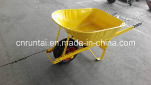 Yellow Color Big Tray Construction Wheelbarrow (Wb8614) pictures & photos