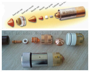 CNC Inverter Air Plasma Cuttting Machine Torch pictures & photos