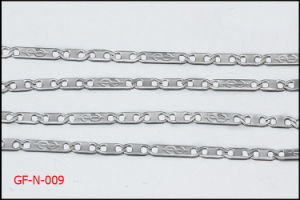 Necklace Findings Stainless Steel Dollar Flat Chain pictures & photos