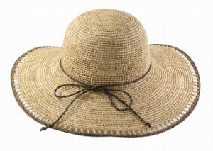 crochet raffia straw hat pictures & photos