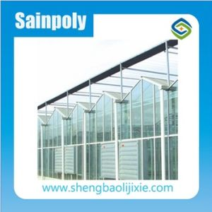 Single-Span Hydroponic Blackout PC Sheet Greenhouse pictures & photos