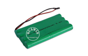 9.6V AAA 400mAh NiMH Battery Pack pictures & photos