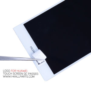 for Huawei P7 LCD Ascend P7 Touch Screen Digitizer Assembly with Frame pictures & photos