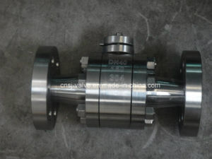 API60d Forged Steel Flange Ball Valve pictures & photos