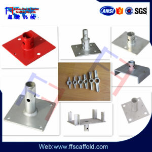 Types of Scaffolding Base Plate for Construction pictures & photos