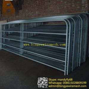 High Quality Livestock Fence Cattle Yard Panel pictures & photos