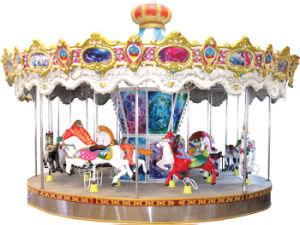 Electrical Luxury Carousel Horse pictures & photos