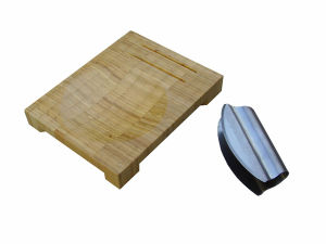 Bamboo Cheese Board with Knife (JD-KC012)
