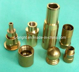 Lathe Machining Parts for Brass F-036 pictures & photos