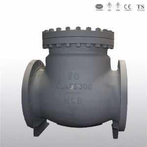Flange Ends Wcb Body 20in 300lbs Swing Check Valves
