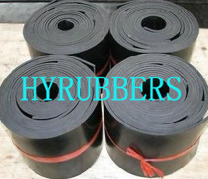 Black Factory Produced NR Rubber Sheet for Flooring pictures & photos