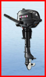 Boat Engine/ Sail Outboard Motor/ 4-Stroke Outboard Motor (F4BML) pictures & photos