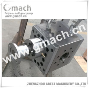 Extrusion Pump Melt Gear Pump for Plastic Sheet Extruder pictures & photos