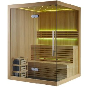 Monalisa Dry Sauna House with LED Ceiling (M-6031) pictures & photos